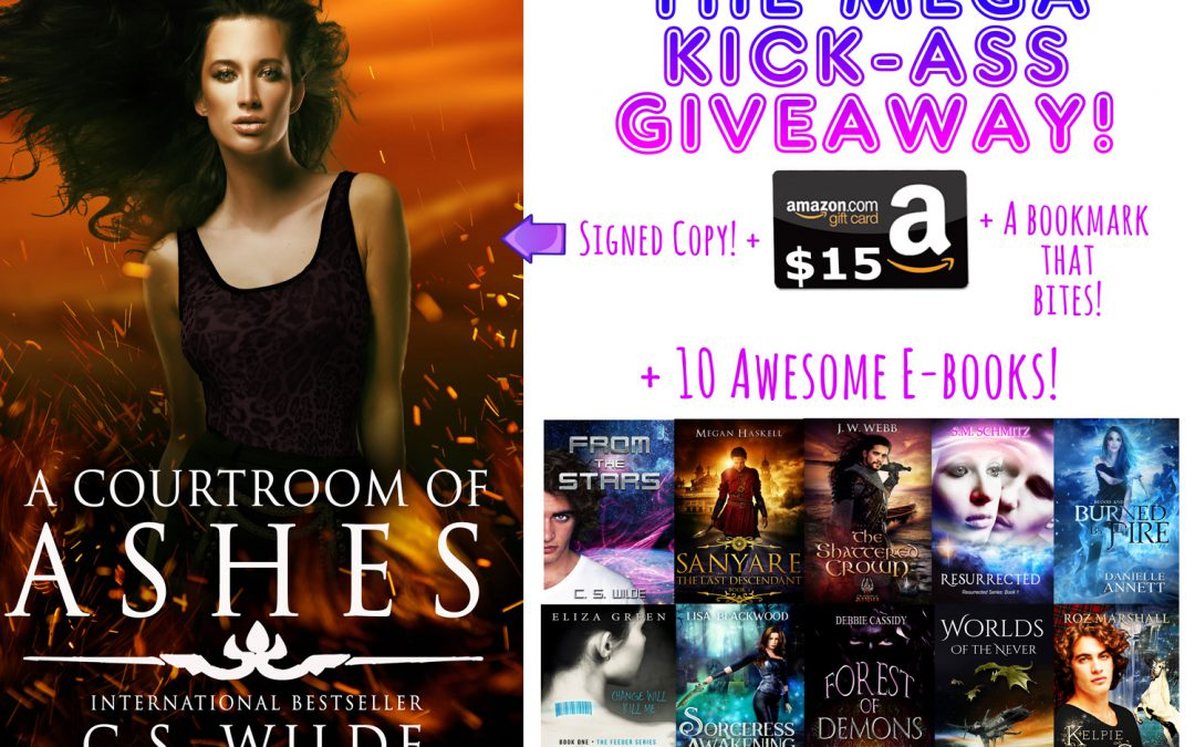 The Mega Kick-ass Giveaway